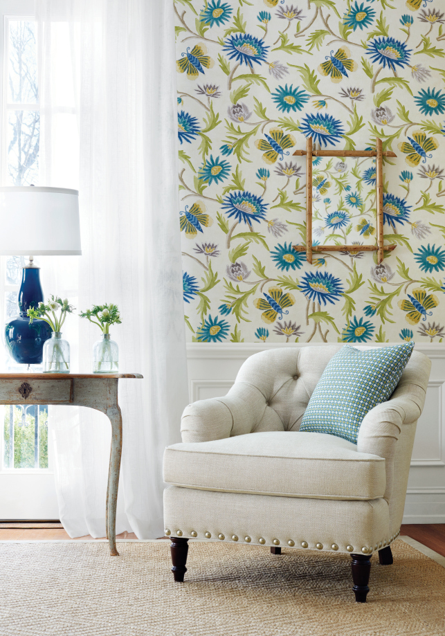 New from Thibaut Enchantment Wallpaper Collection The Color House 643x919