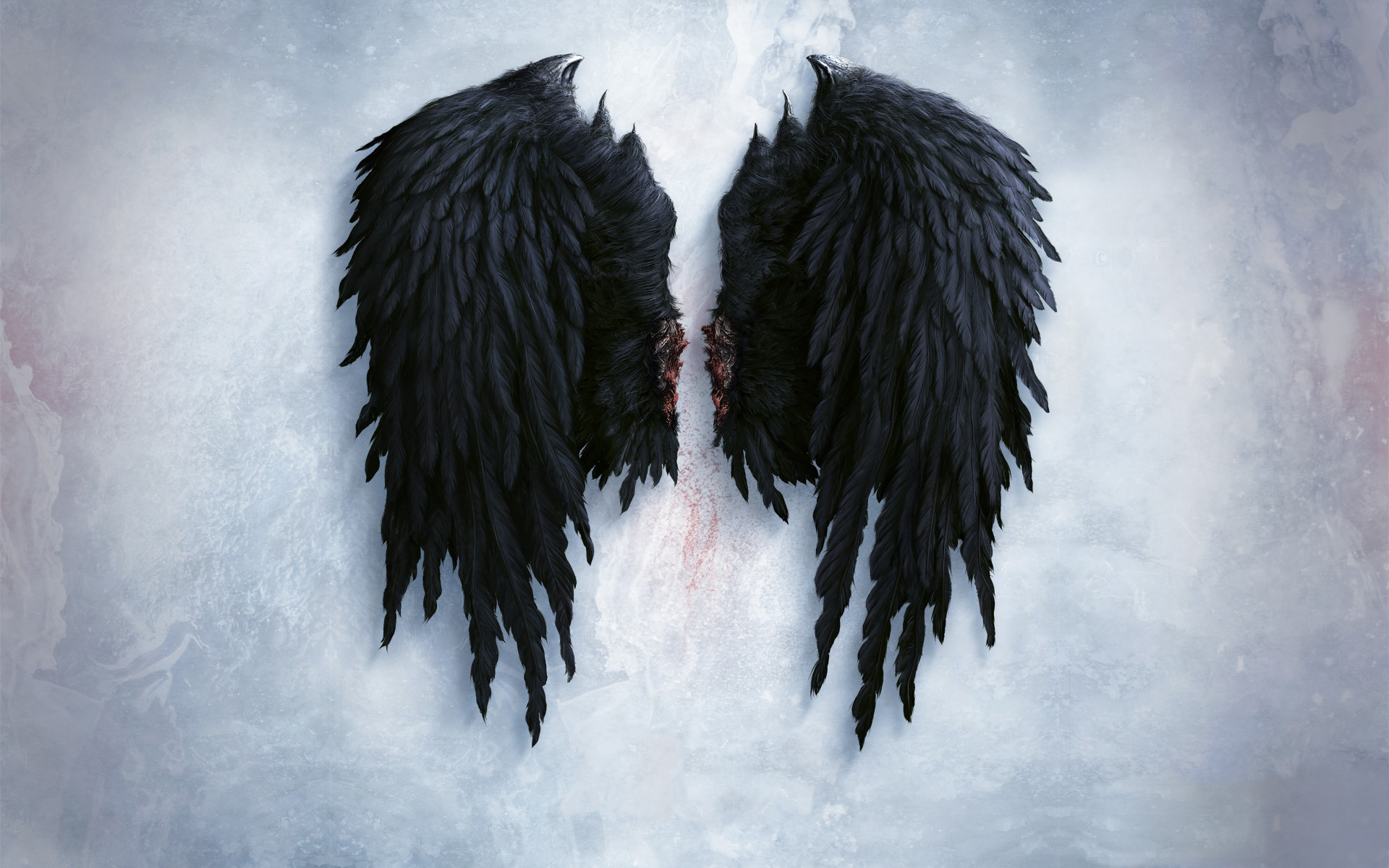 43 Free Wallpaper Angel Wings On Wallpapersafari