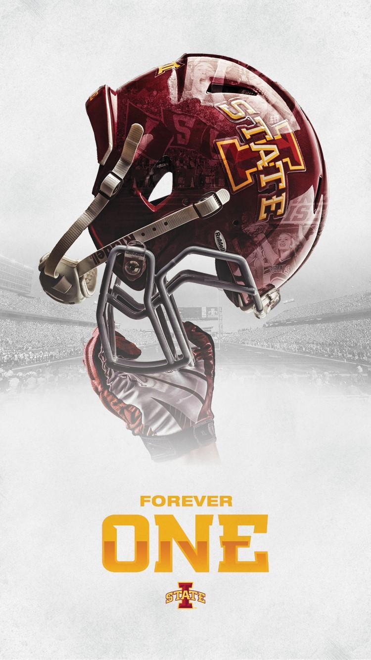 Download Football Poster As Desktop Wallpaper   Iowa State 750x1334