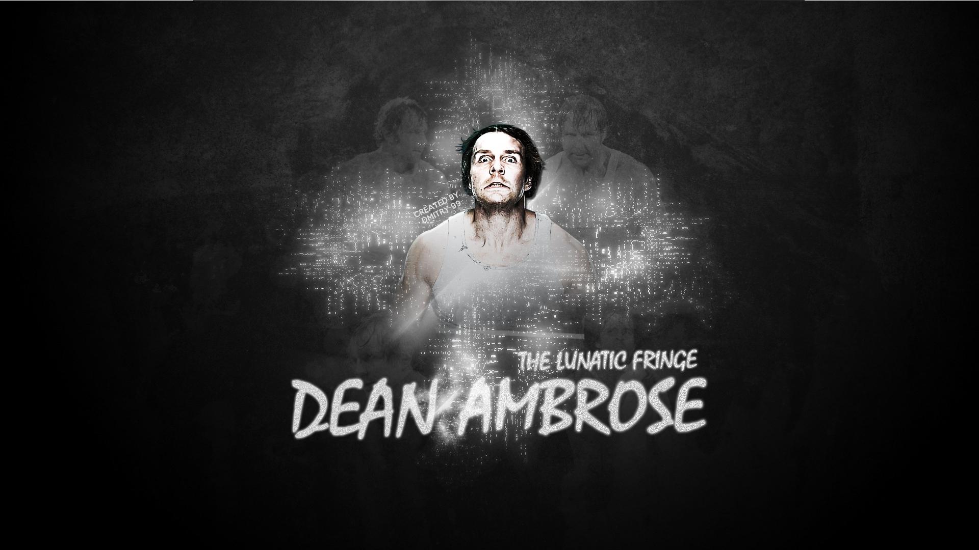 Dean Ambrose HD WallPaper by dmitrykozin99 1920x1080