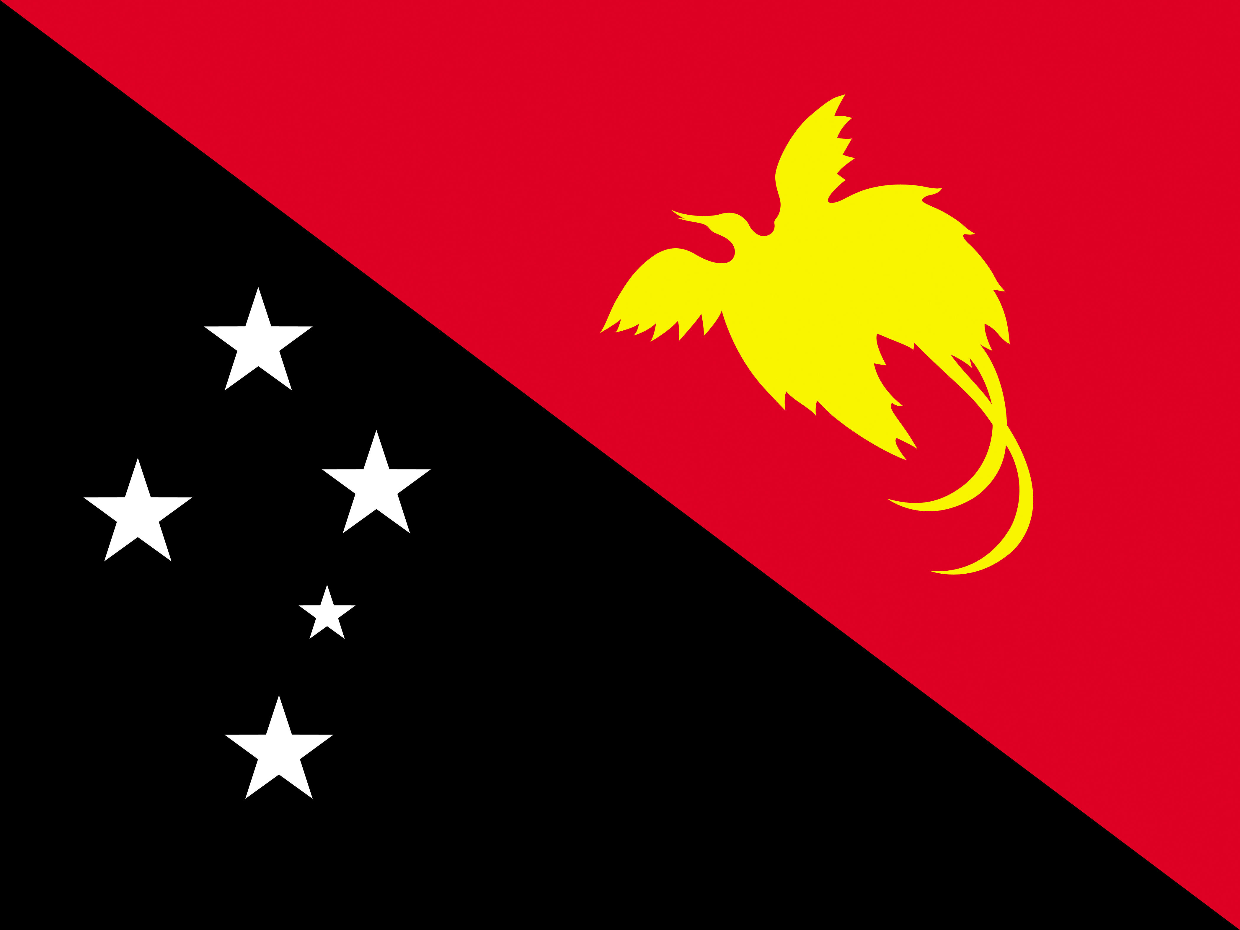 Photo Papua New Guinea Flag 4200x3150 4200x3150
