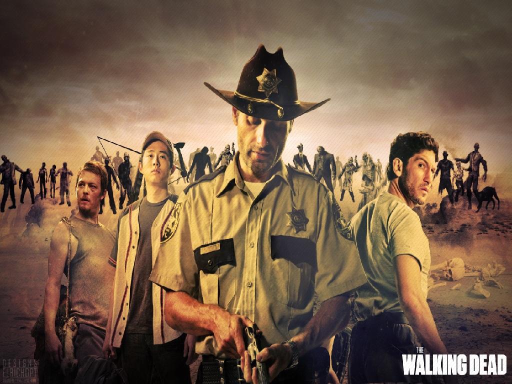 AMC   The Walking Dead group   Slide DB 1024x768