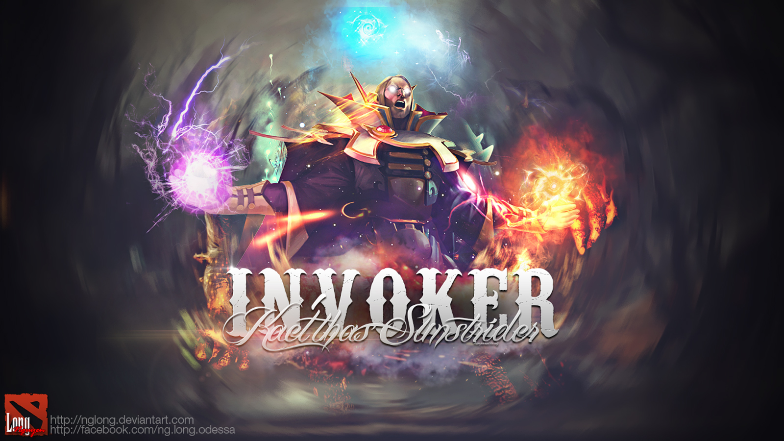 Invoker Dota 2 Wallpaper - WallpaperSafari