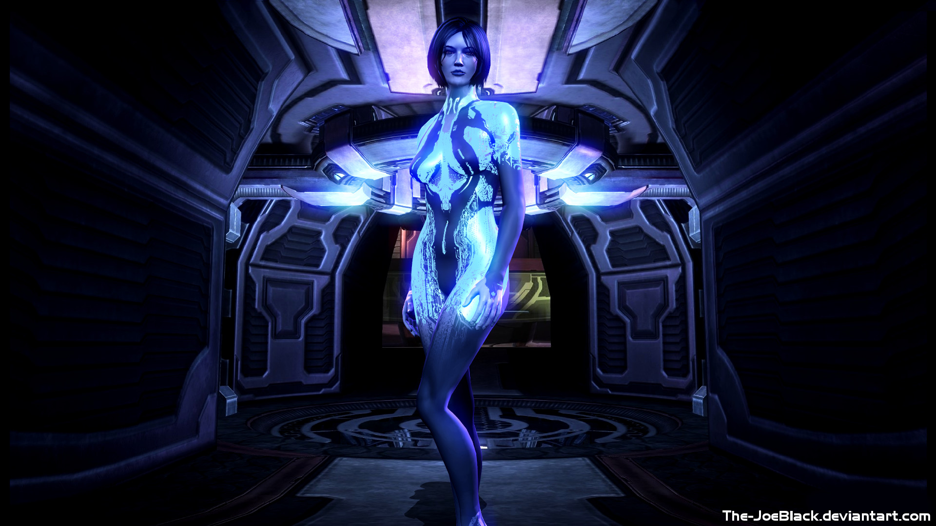 Halo 4   Cortana wallpaper by JoesHouseOfArt 1920x1080