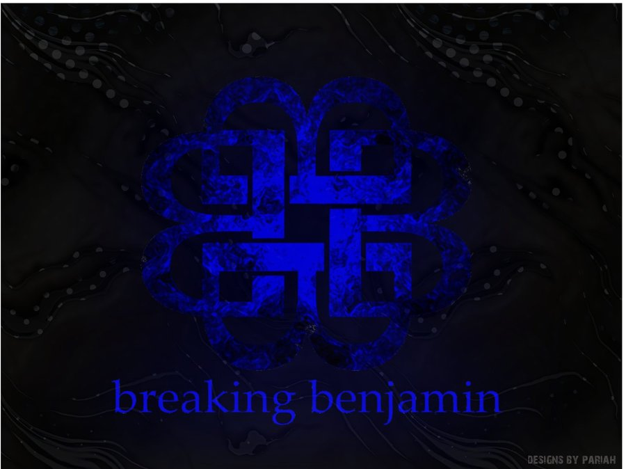 Breaking Benjamin Logo Wallpaper Breaking benjamin logo art v2 900x674