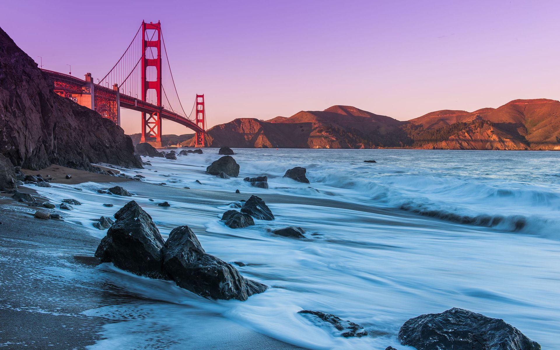Download Golden Gate Bridge San Francisco wallpaper 1920x1200