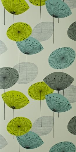 Dandelion clocks wallpaper Textiles Patterns Pinterest 260x520