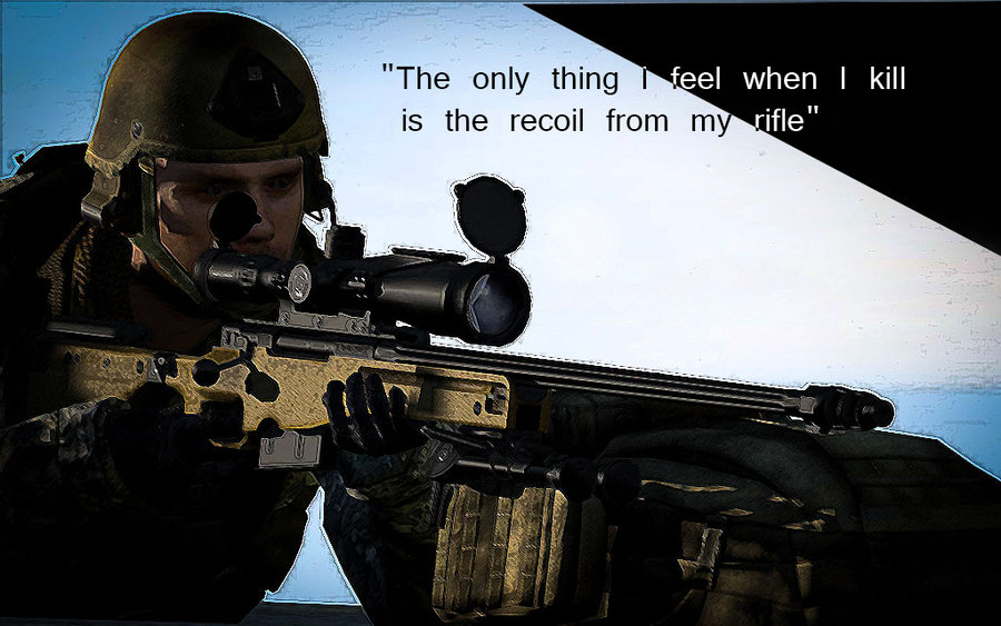 Arma 2 Sniper Wallpaper Arma 2 marine sniper by 900x563