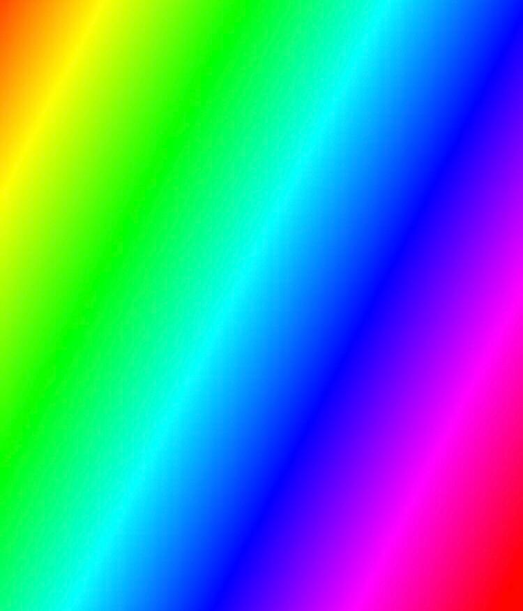 Create meme color bar test screen arcade gradient colour 750x875