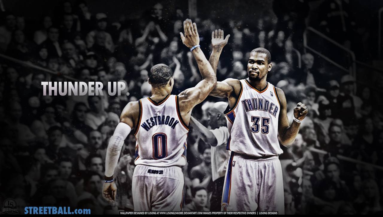 download FunMozar Russell Westbrook And Kevin Durant 1280x727