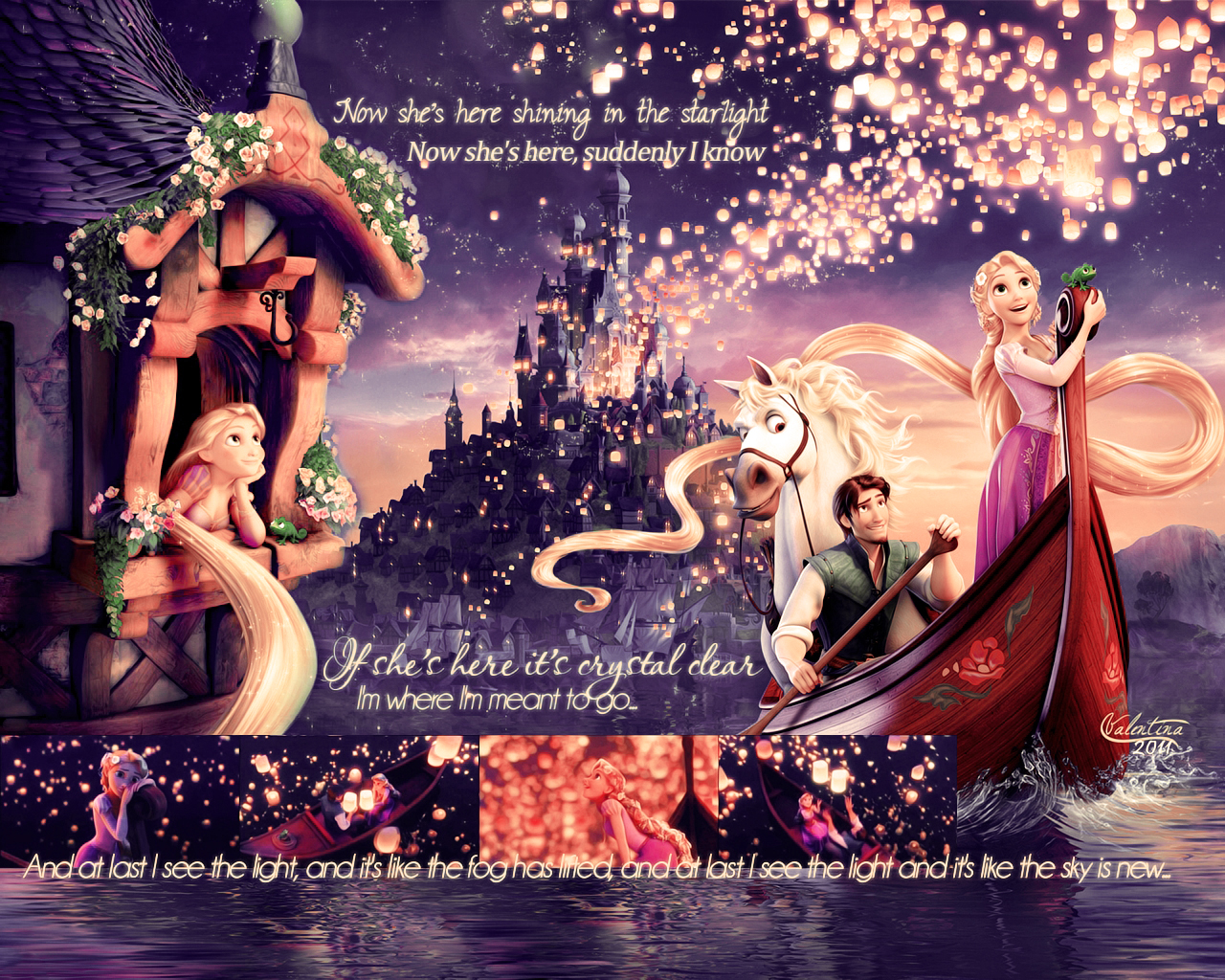 75 tangled disney wallpaper on wallpapersafari - Tangled wallpaper ...