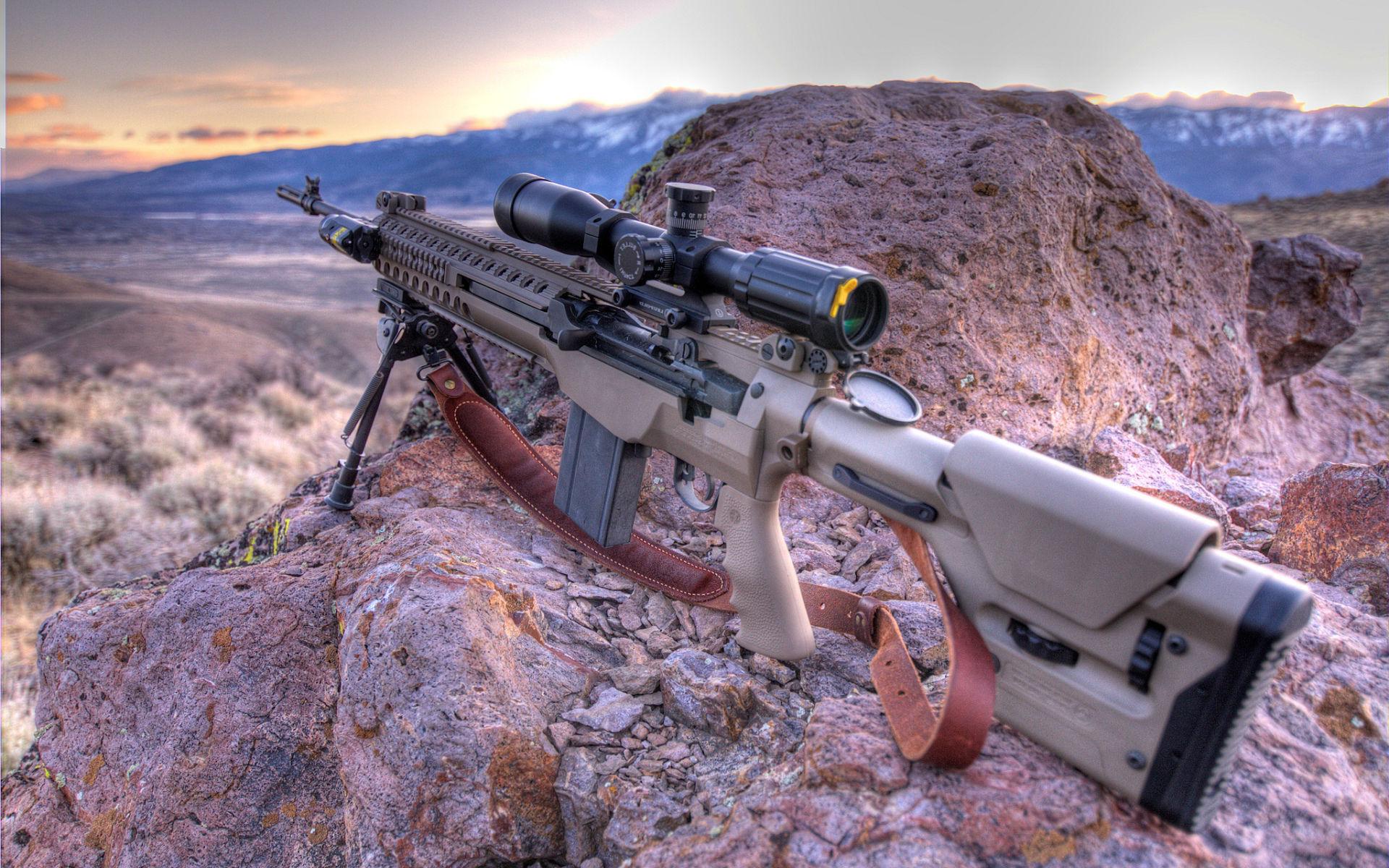 Sniper Guns Wallpaper 1920x1200