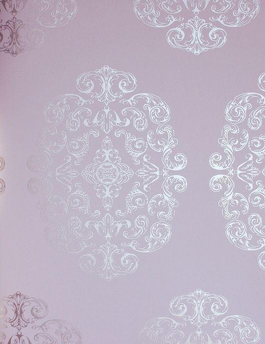 47 Lilac And Silver Wallpaper On Wallpapersafari