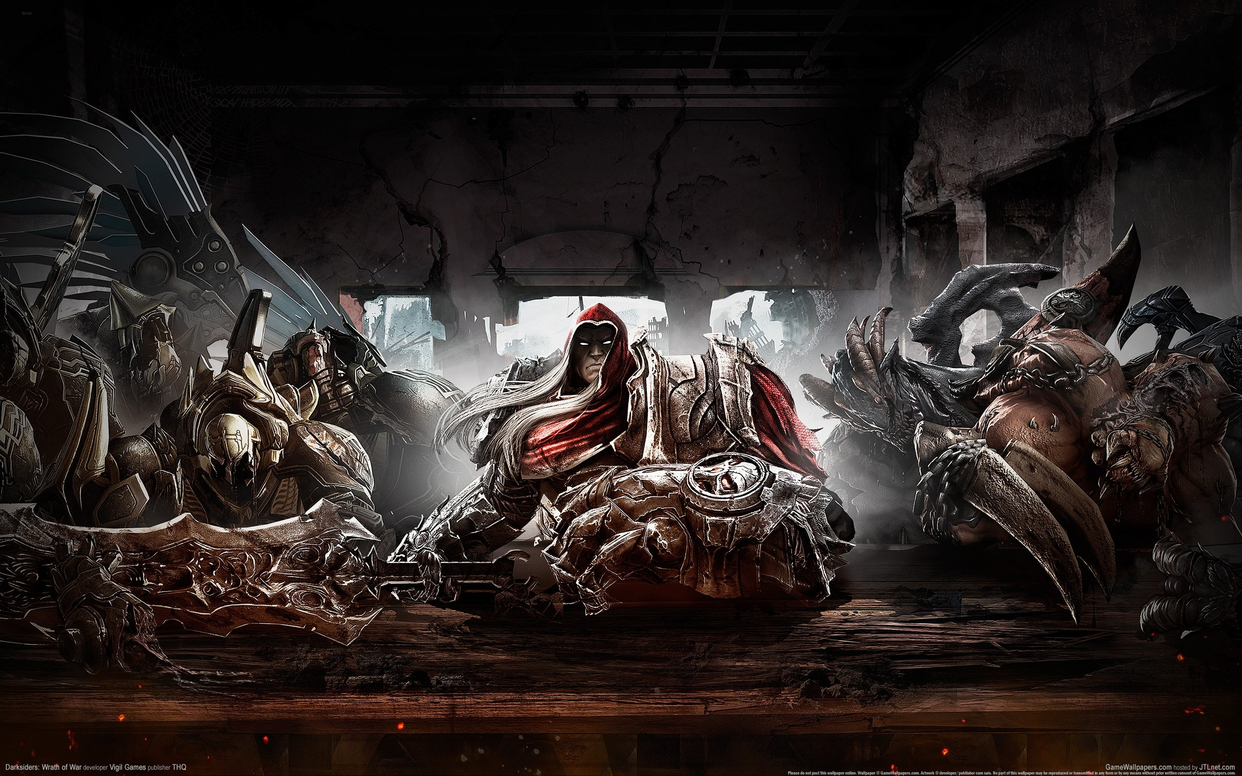 Some Sweet Darksiders Wallpapers   Darksiders Dungeon 2560x1600