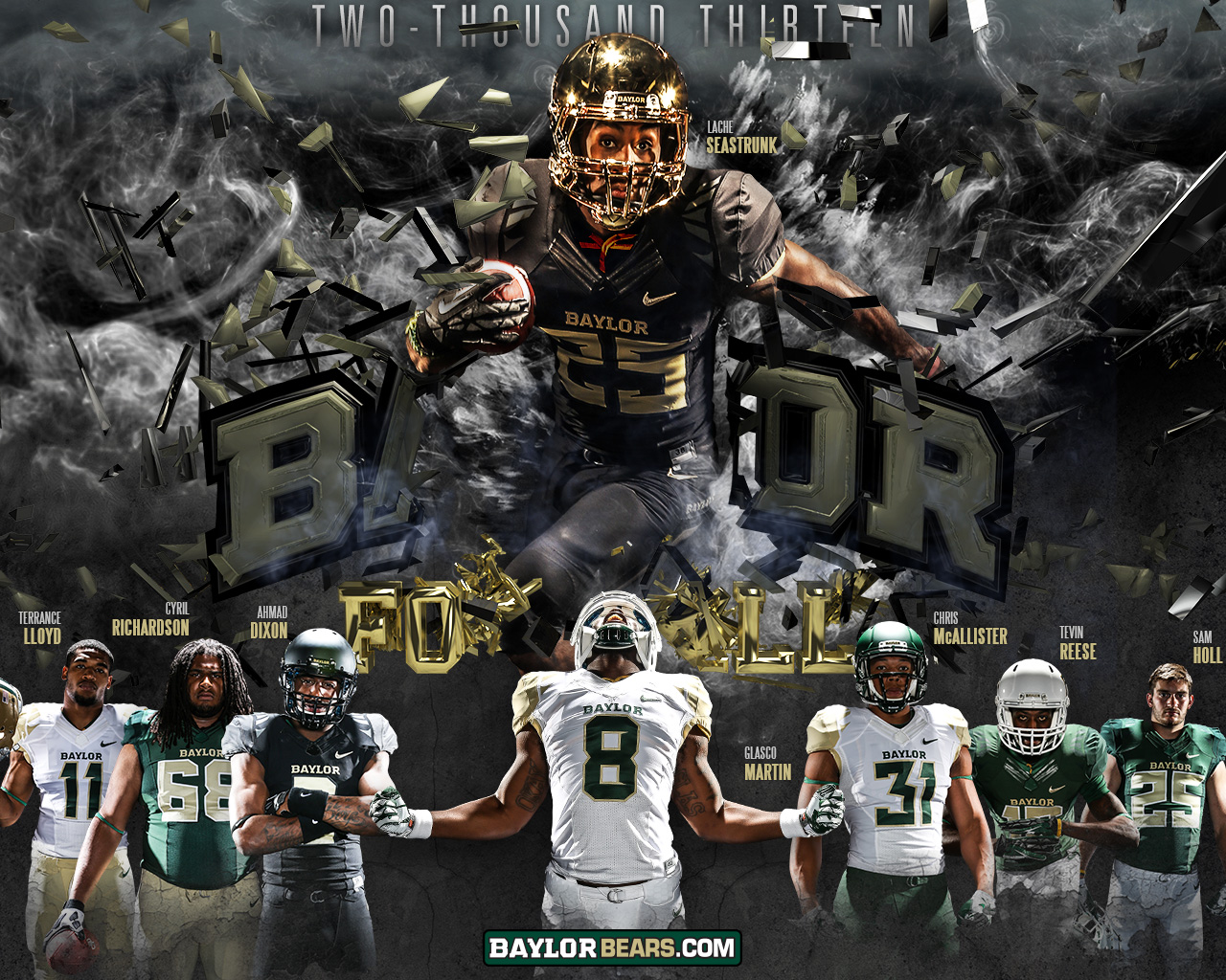Baylor Bears Wallpaper Collection Sports Geekery 1280x1024