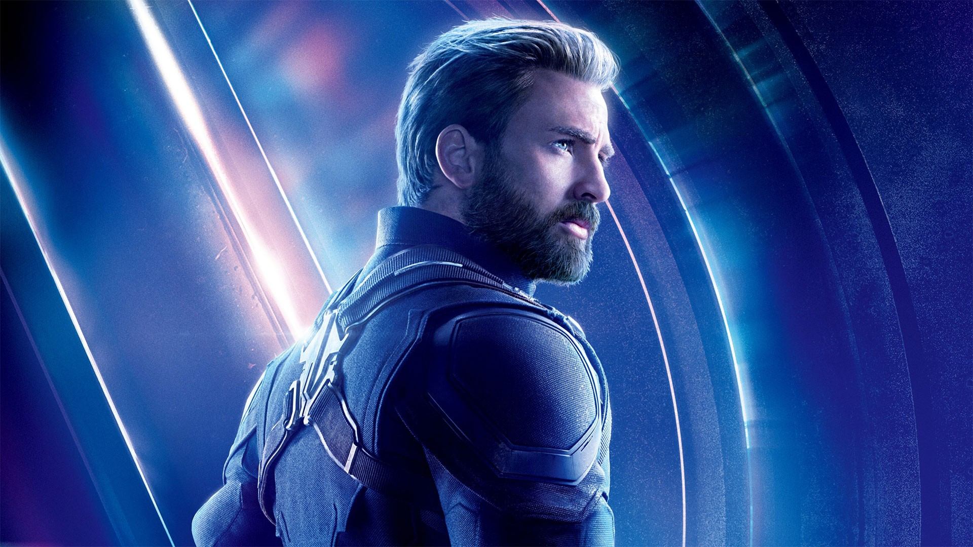 Chris Evans Captain America Avengers Endgame Wallpaper HD 2019 1920x1080