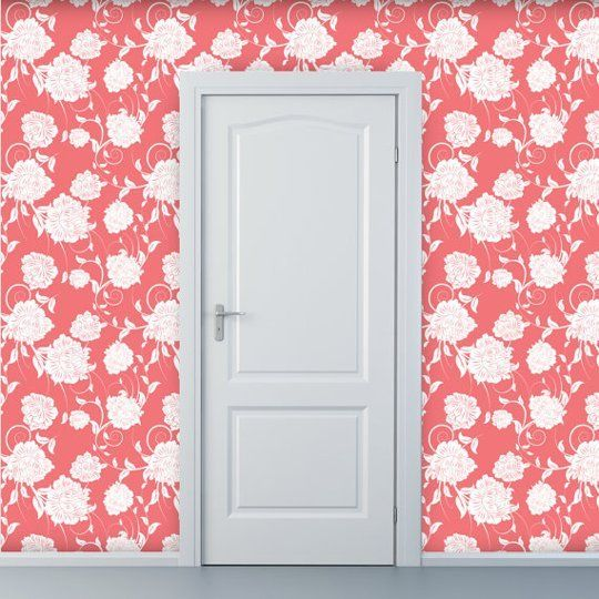 Removable Wallpapers by Style Floral Renters Solutions Apartment 540x540