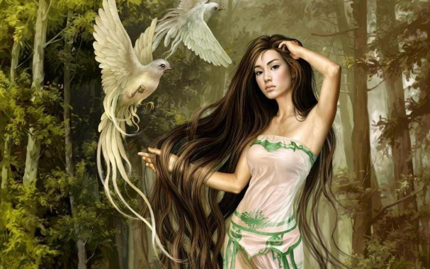 Beautiful Fantasy Girls HQ wallpapers 1440x900 free Download | PIXHOME