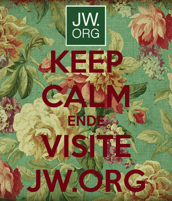 KEEP CALM ENDE VISITE JWORG   KEEP CALM AND CARRY ON Image Generator 600x700