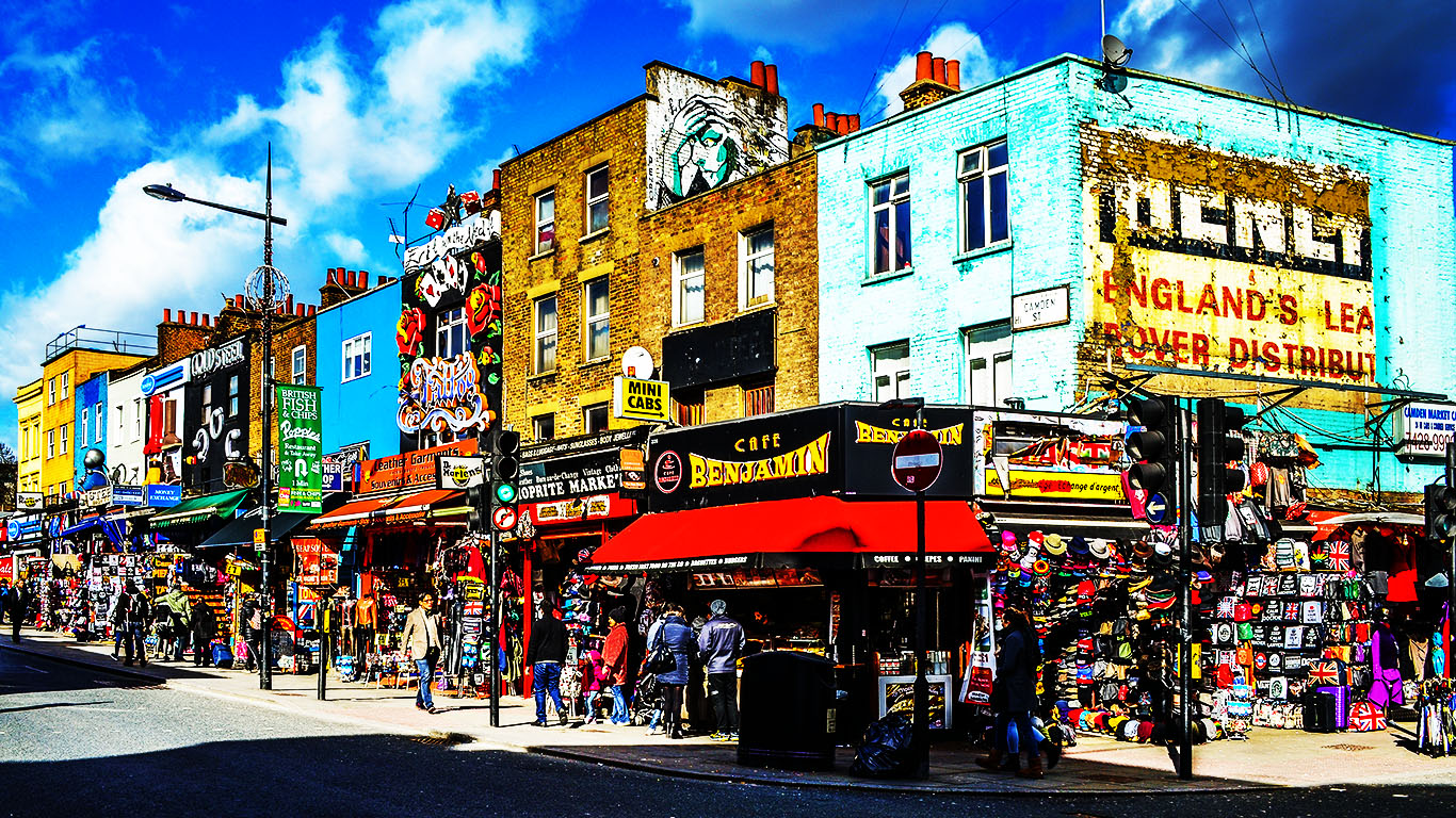 Top 11 Places to Visit in London 1366x768