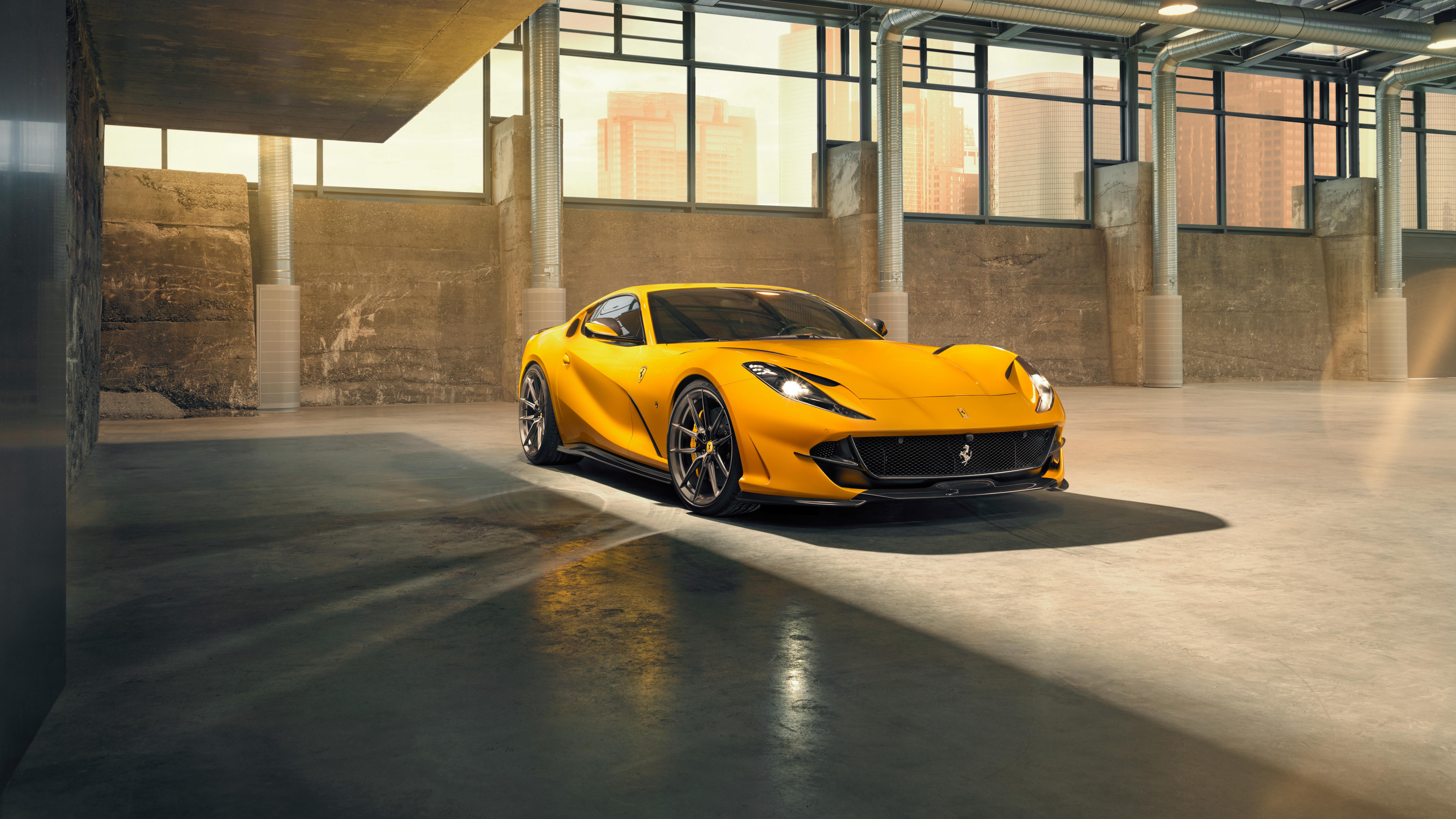 Novitec Ferrari 812 Superfast 2019 4K 8K 6 Wallpaper HD Car 7680x4320