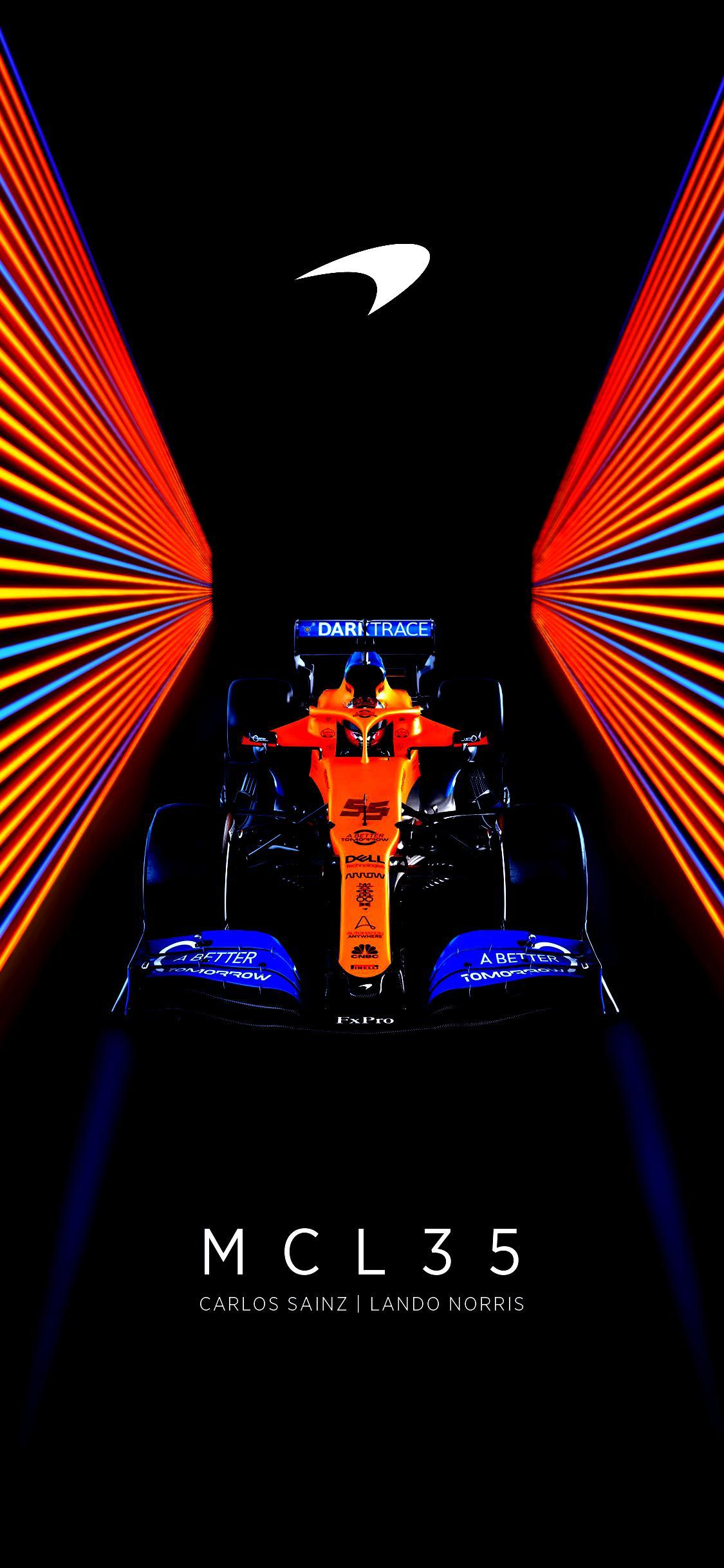 McLaren f1 amolead wallpaper 1125x2436 formula1 1125x2436