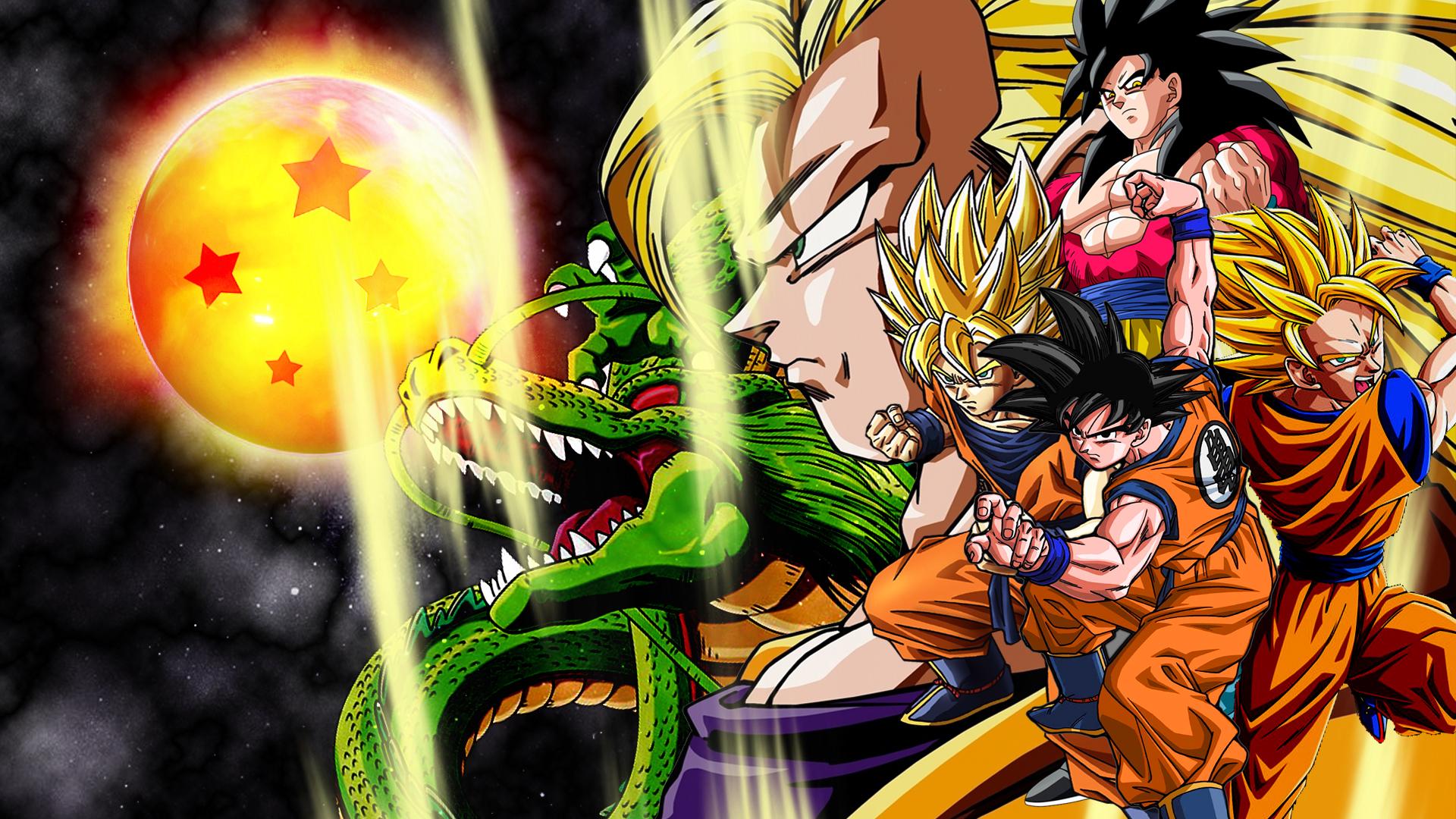 Fondos de Dragon Ball Z Goku Wallpapers para descargar gratis 1920x1080