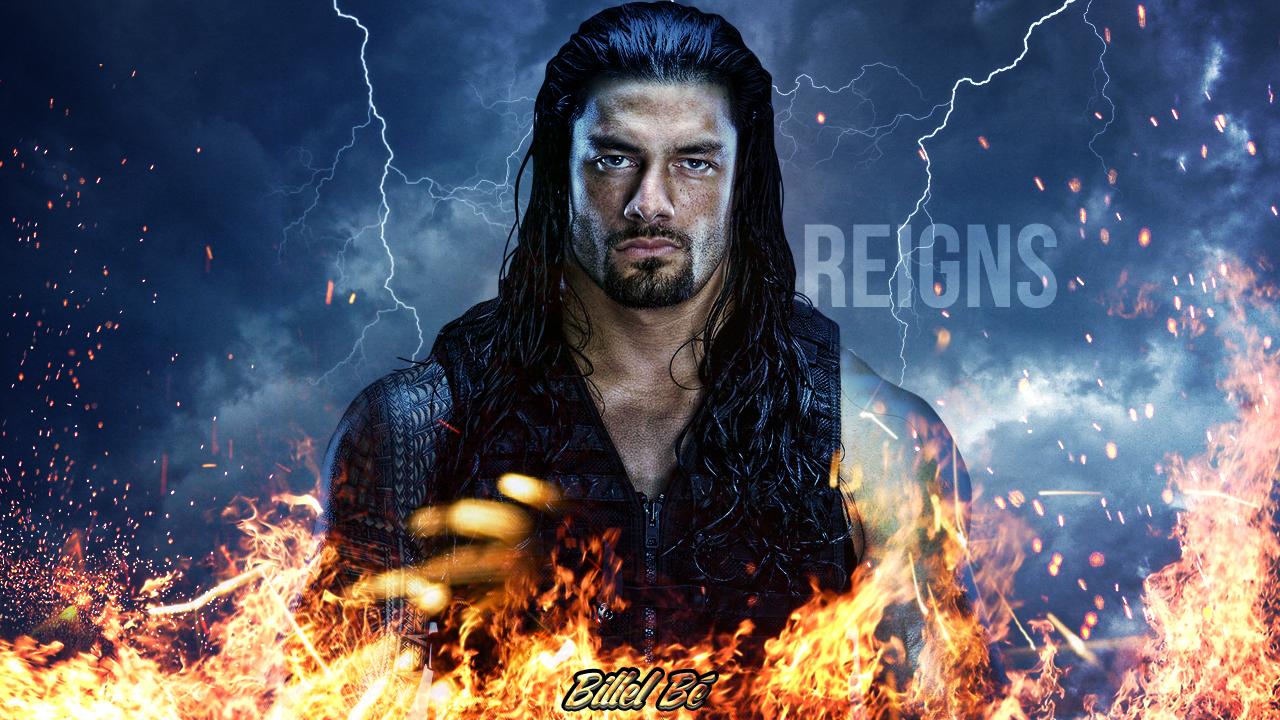 Roman Reigns by BillelBe 1280x720
