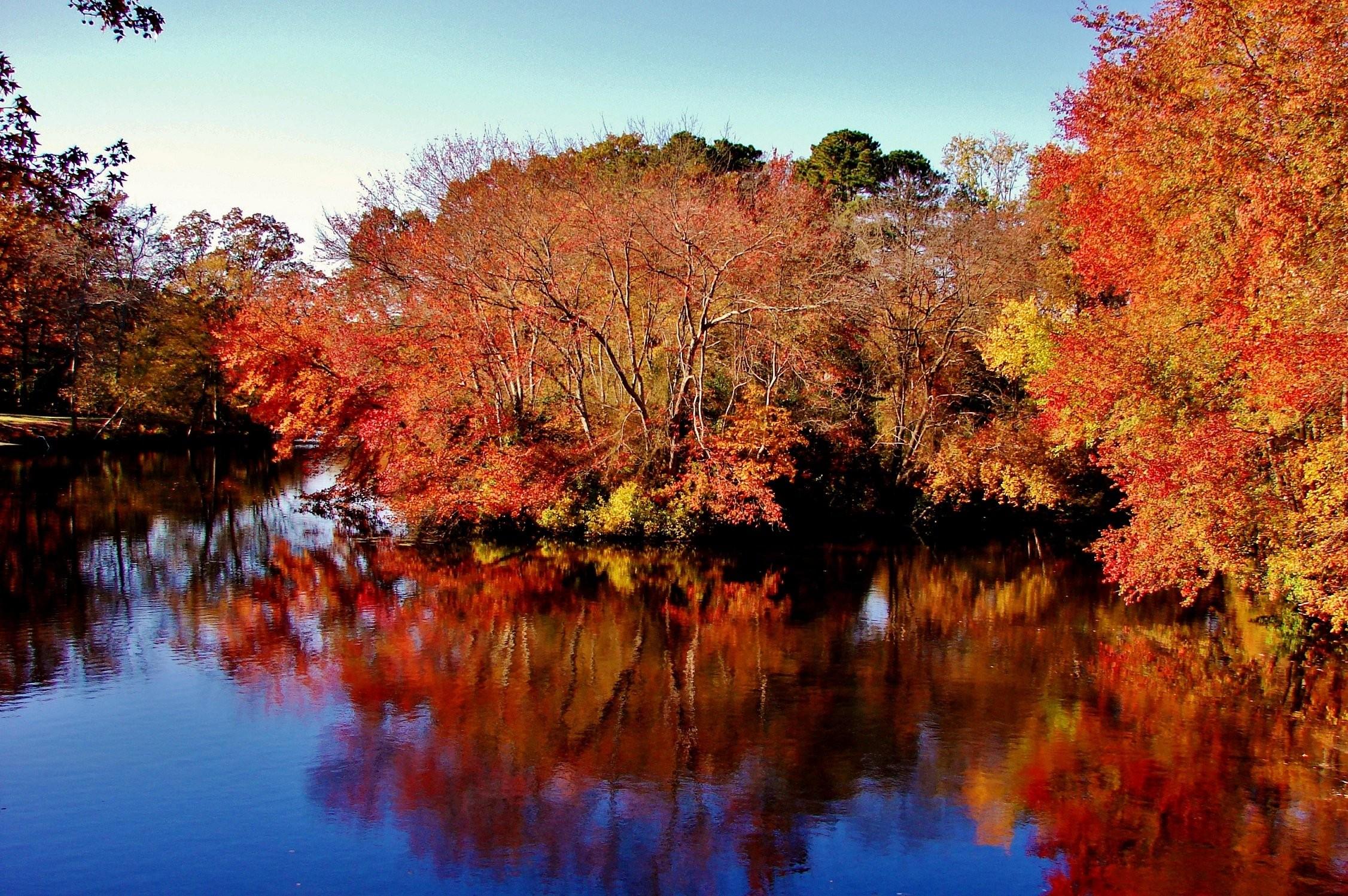 River Backgroundsautomne Wallpaper Wet Landscapes Cool Images 2253x1498