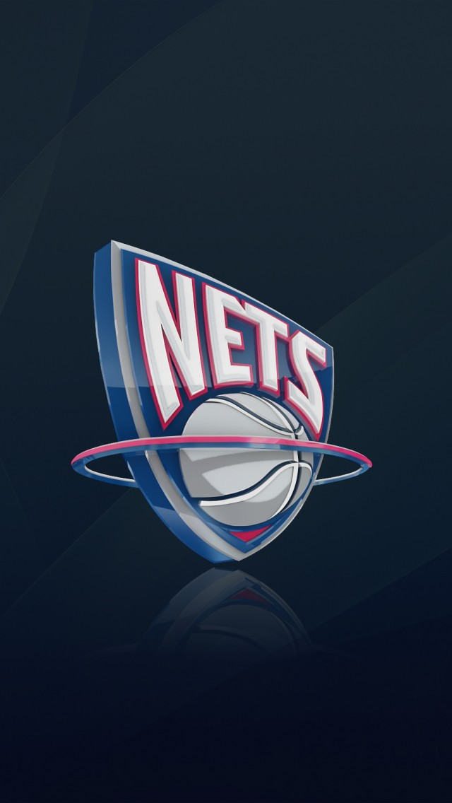Brooklyn Nets logo iPhone 5S Wallpaper iPhone 5s Wallpapers and 640x1136