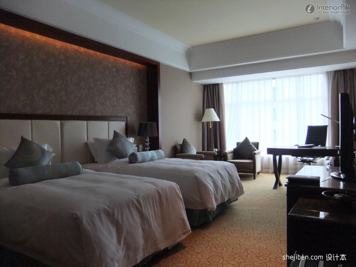 bedroom wallpaper decoration effect Modern bedroom modern bedroom 1200x900
