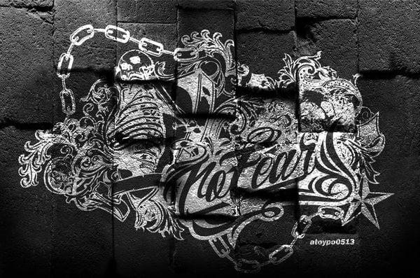 no fear wallpaper by atoypo0513 600x397