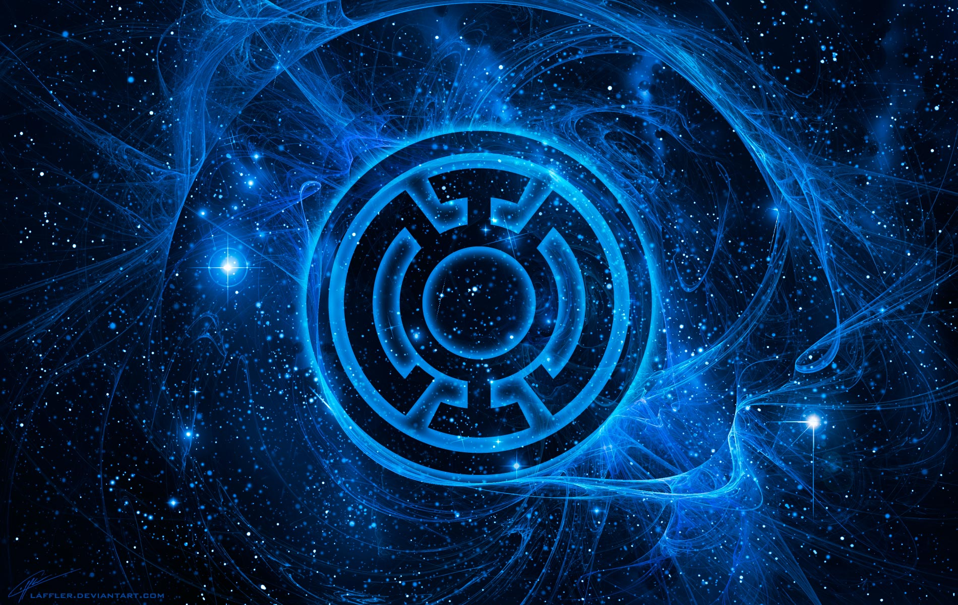 Blue Lantern Corps Wallpapers by Laffler 1900x1200