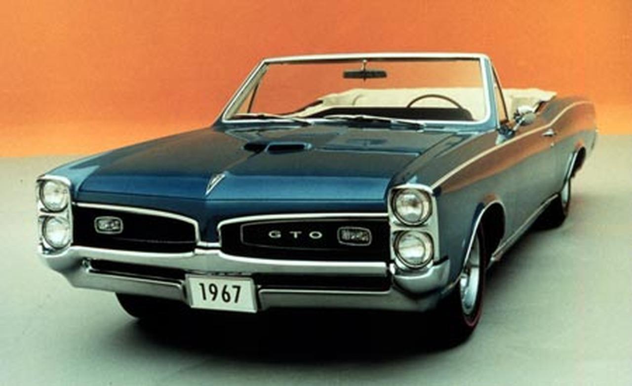 1967 Pontiac GTO 1280x782