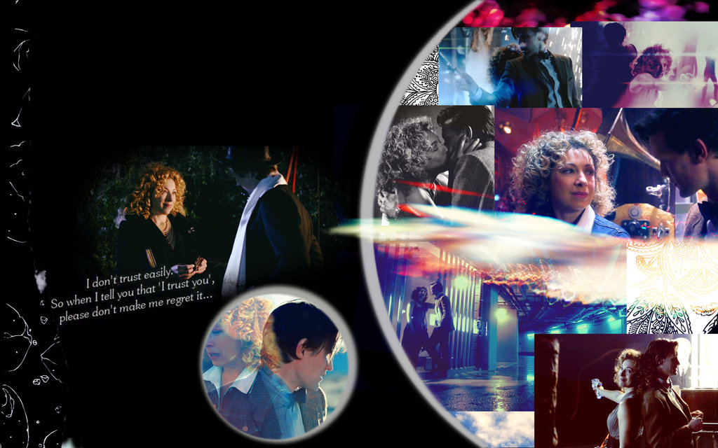 Doctor Who Wallpaper River Song I trust you river songeleven 1024x640