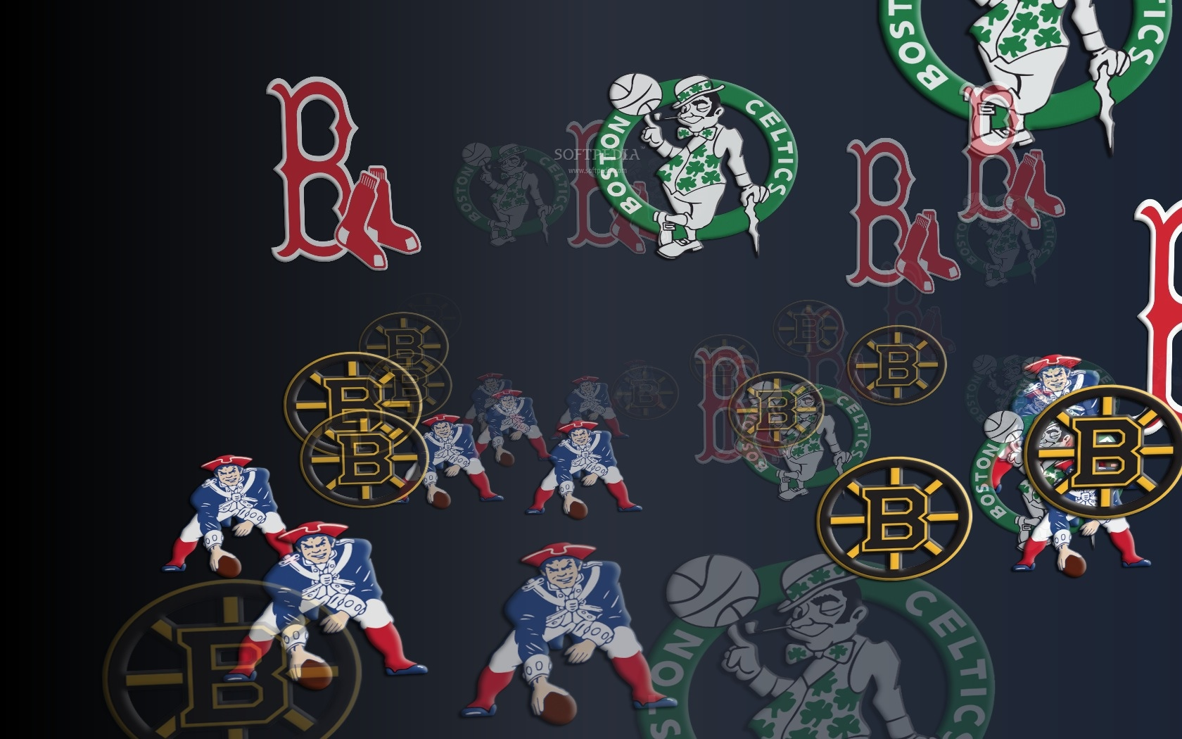 Free Screensavers Sports Teams: Boston Sports Wallpaper For Computer