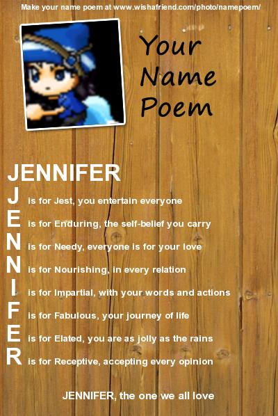 Jennifer Name Wallpaper Wallpapersafari