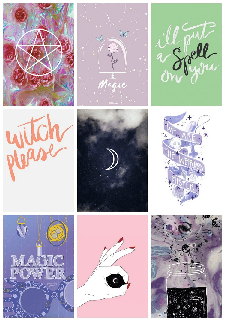 Free Download Witch Aesthetic Wallpapers Top Witch Aesthetic