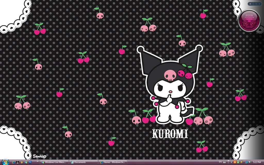 47 kuromi wallpaper on wallpapersafari
