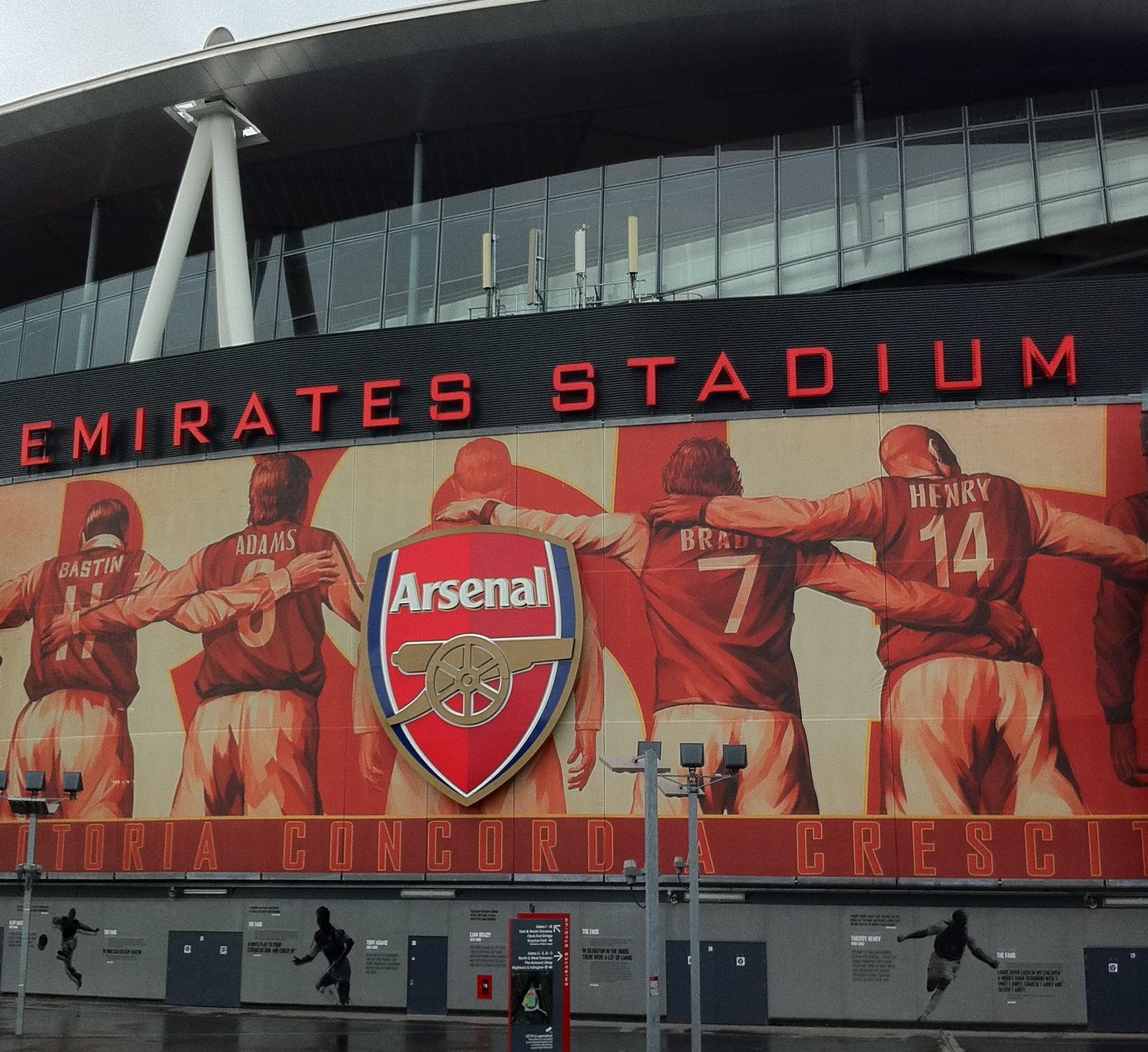 Background of the day Emirates Stadium Stadium wallpapers 1742x1597
