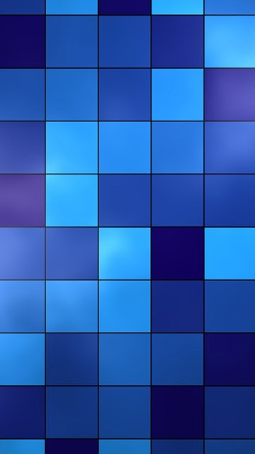 Blue Grid Mobile Phone Wallpapers 360x640 Hd Wallpaper For Cell Phones 360x640