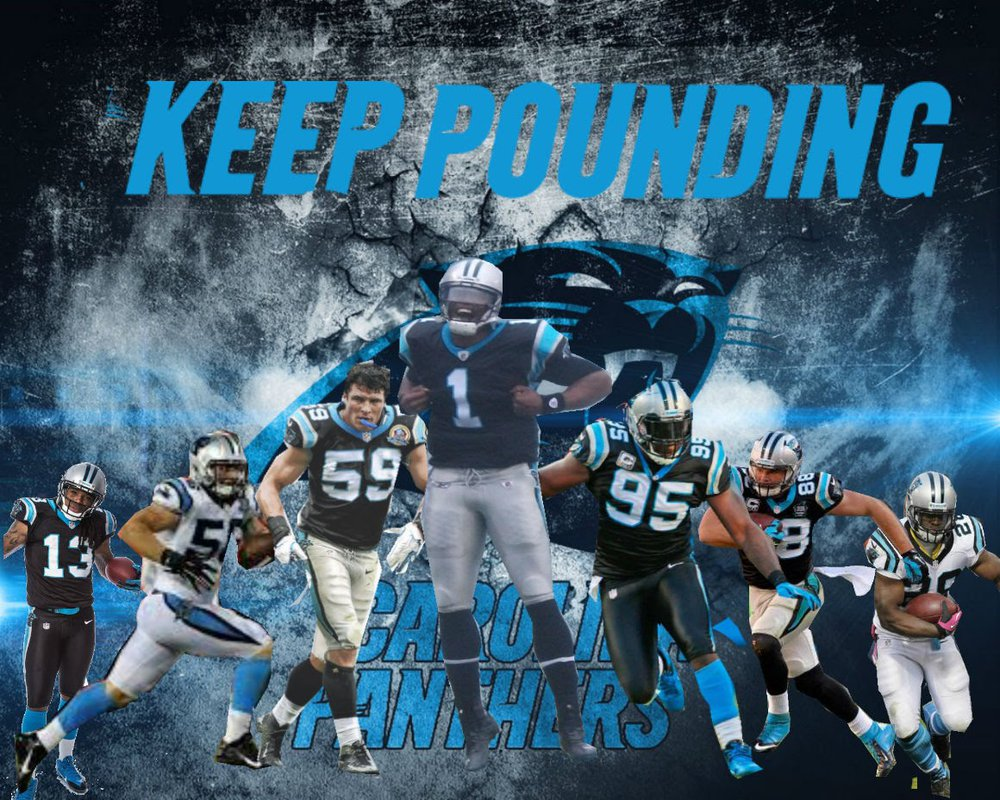 Carolina Panthers Logo Wallpaper WallpaperSafari