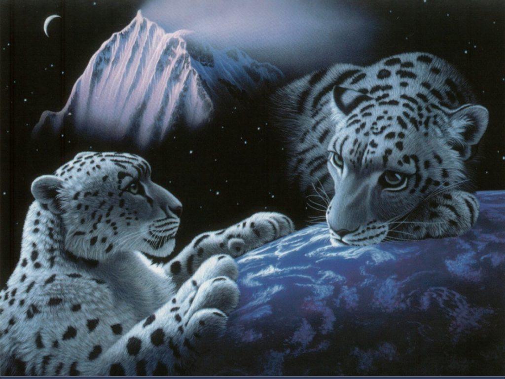 Download fantasy Wallpaper 479   White Tigers   Fantasy Creatures 1024x768
