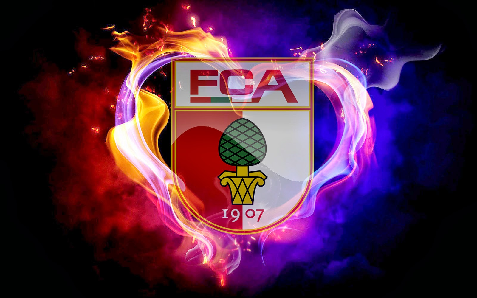 FC Augsburg Football Club Logo Picture 6478   Ongur 1600x1000
