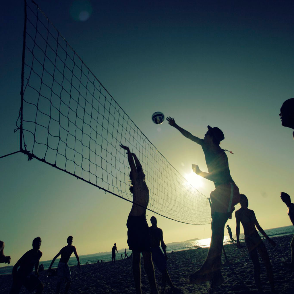 Beach Volleyball iPad Wallpaper   Download iPad wallpapers 1024x1024
