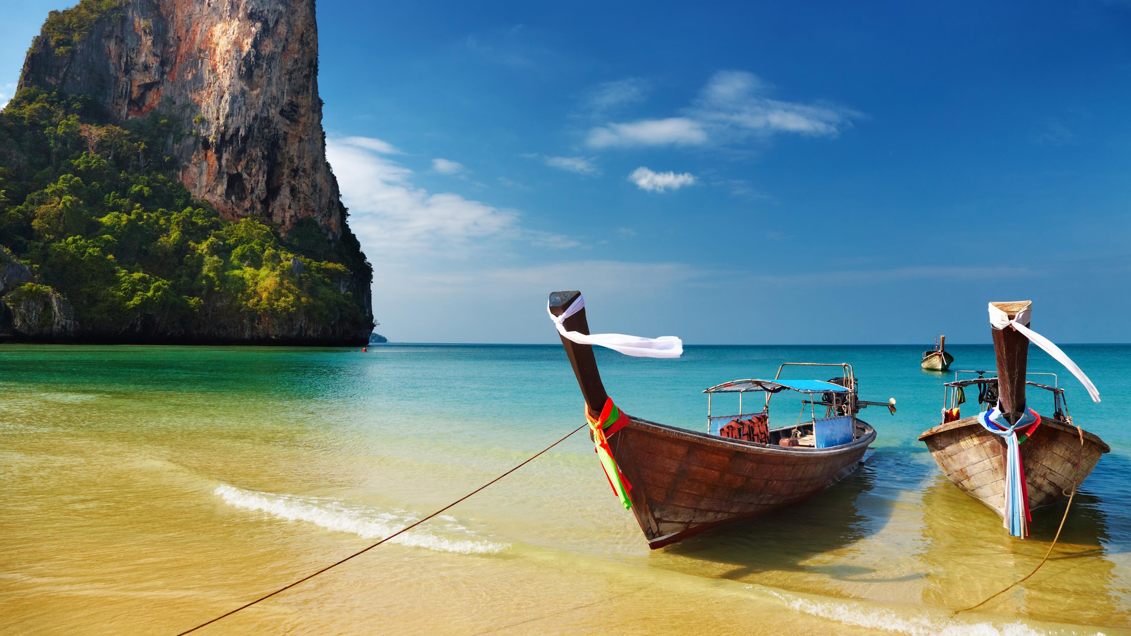 Tropical beach Thailand Ultra HD wallpaper UHD WallpapersNet 3840x2160