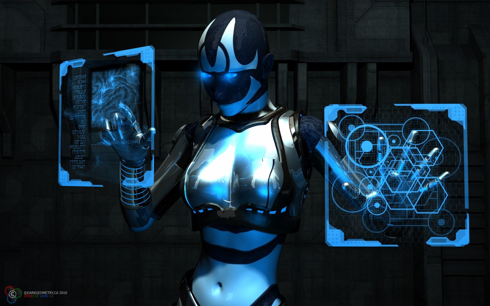 Cyborgs DeviantART Wallpaper 1680x1050 Cyborgs DeviantART 3D 1680x1050