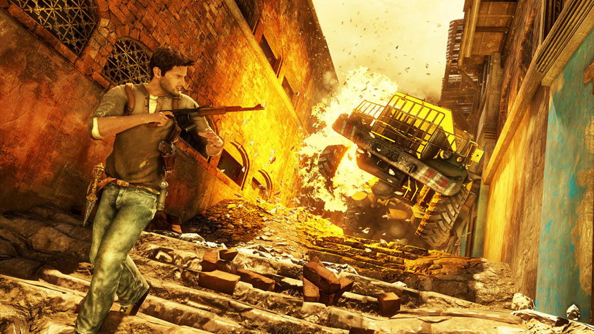 Uncharted 2 Among Thieves Wallpaper in 1920x1080 860x484