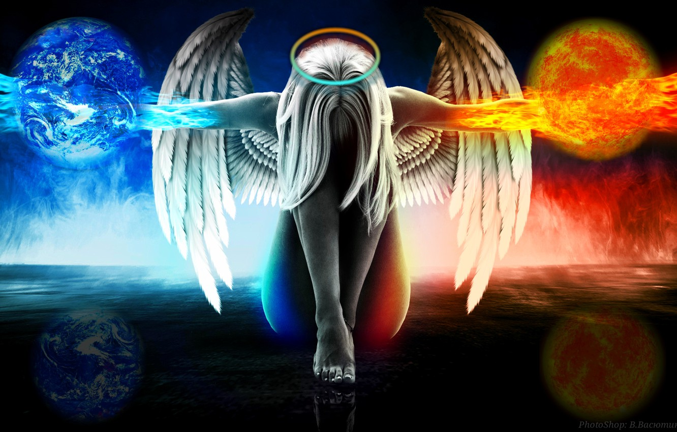Wallpaper welcome fight angel evil images for desktop section 1332x850