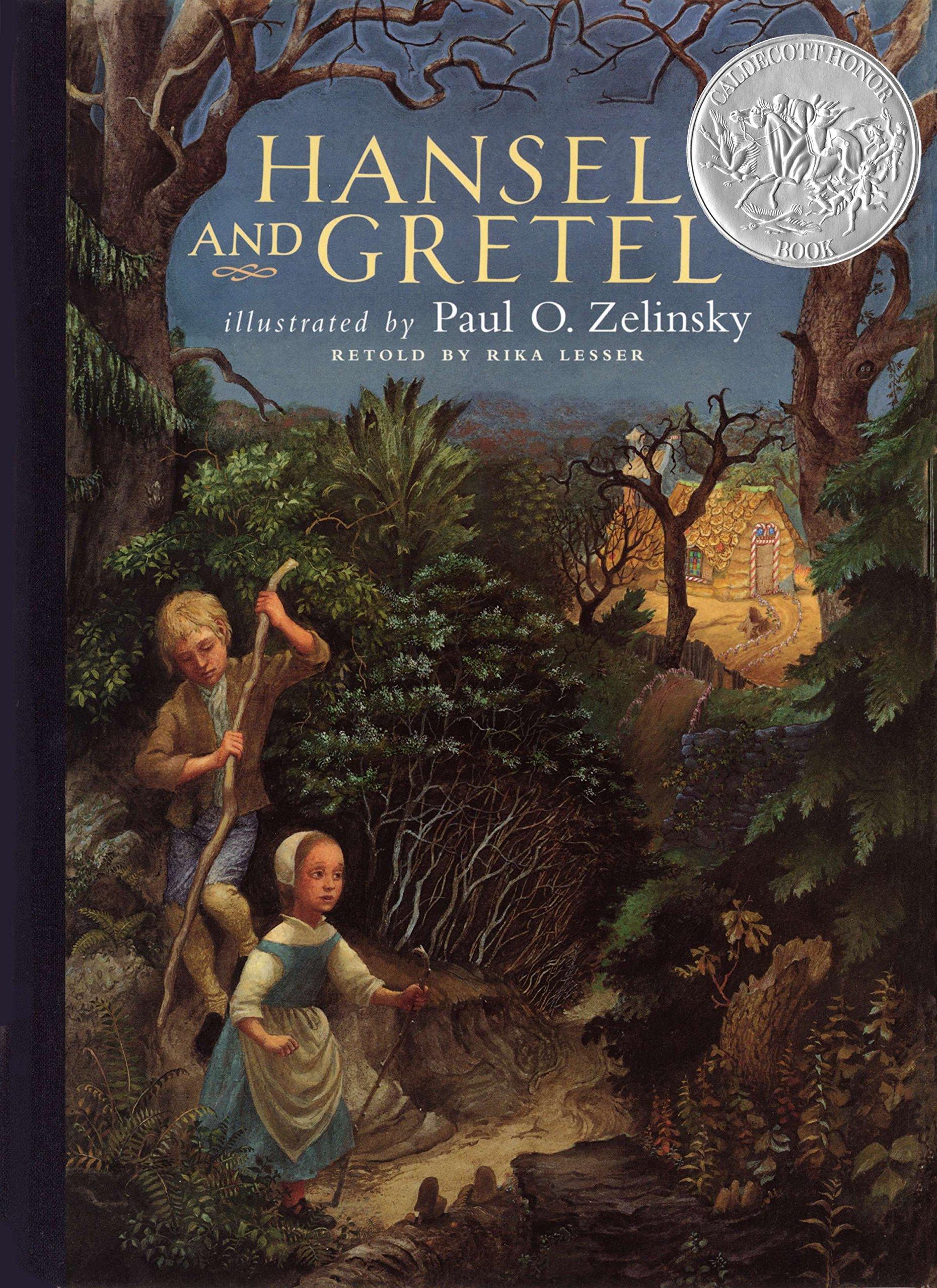Hansel and Gretel Rika Lesser Paul O Zelinsky 9780525461524 1861x2560